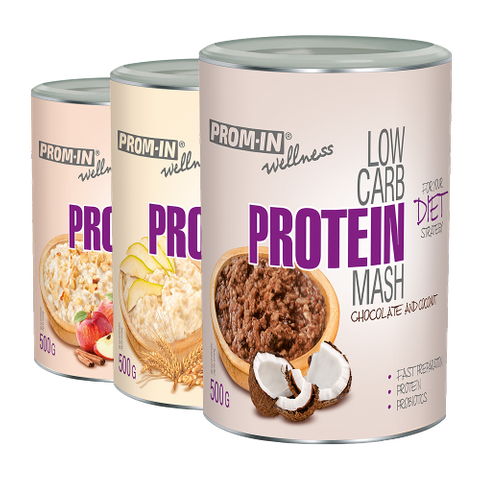 Prom-In Low Carb Protein Workout Mash 500 g