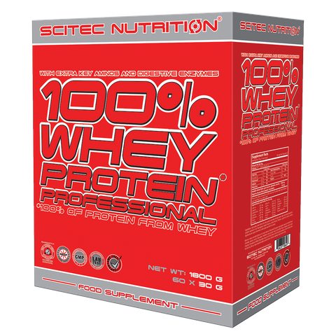 100% Whey Protein Professional 60 x 30 g mix