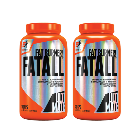 AKCE 1+1 Extrifit Fatall Fat Burner 130 cps + Fatall Fat Burner 130 cps