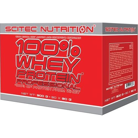 100% Whey Protein Professional 30 x 30 g mix