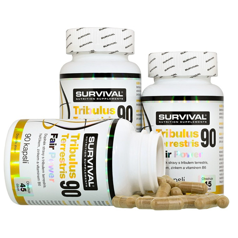 Survival Tribulus Terrestris 90 Fair Power 90 cps 2+1 zdarma