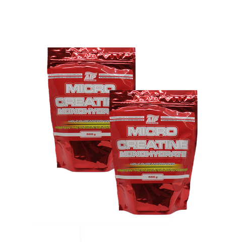 AKCE 1+1 ATP Nutrition Micro Creatine Monohydrate 555 g + Micro Creatine Monohydrate 555g